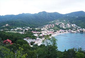 Grande Anse d'Arlet au Nord du bourg des Anses d'Arlet