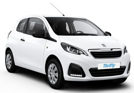 thrifty location voiture 2 Peugeot 108