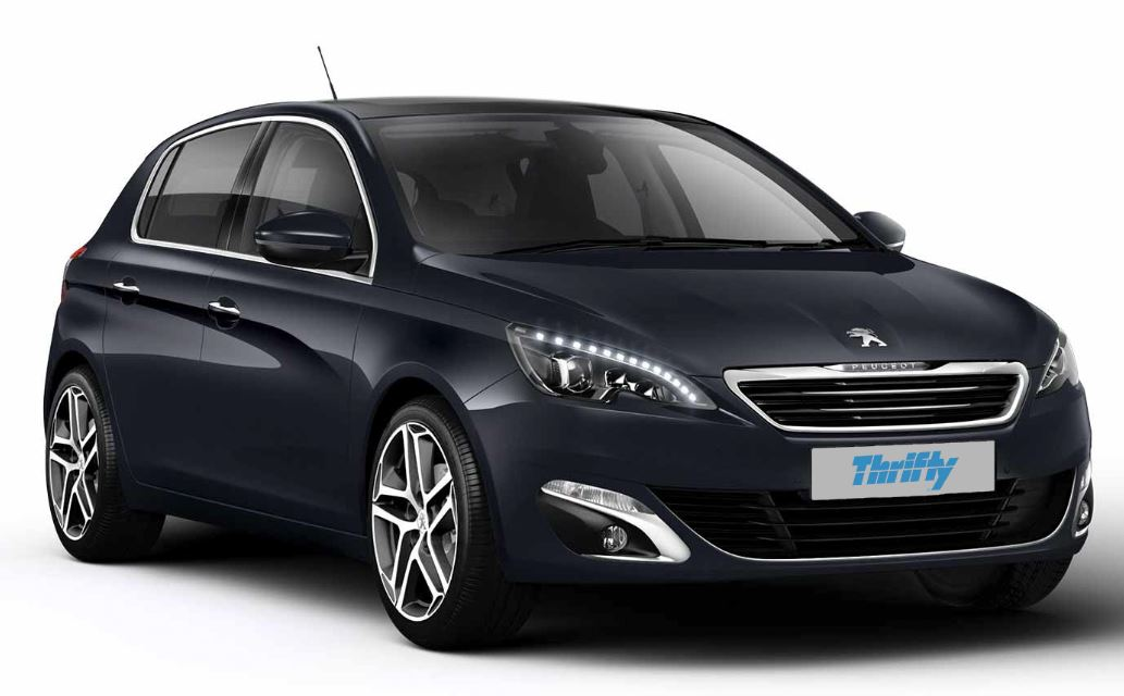 thrifty location voiture 3 Peugeot 308