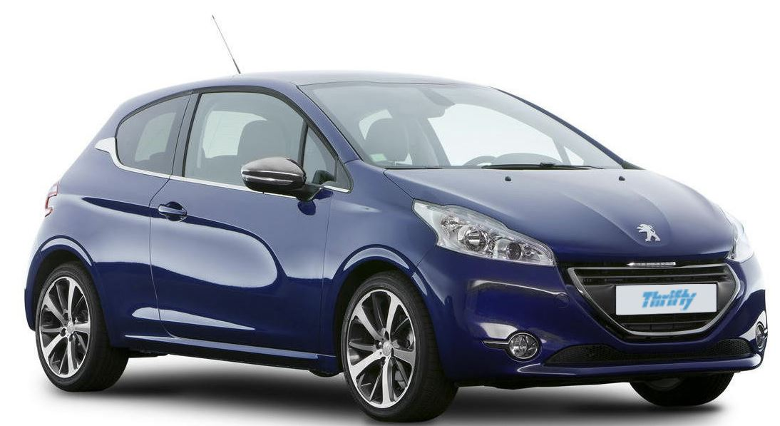 thrifty location voiture guyane Peugeot 208