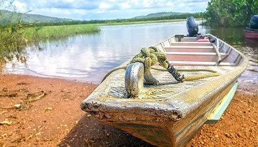 Pirogue en Guyane