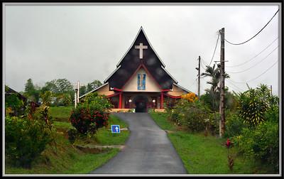 Le Village Hmong Cacao en Guyane