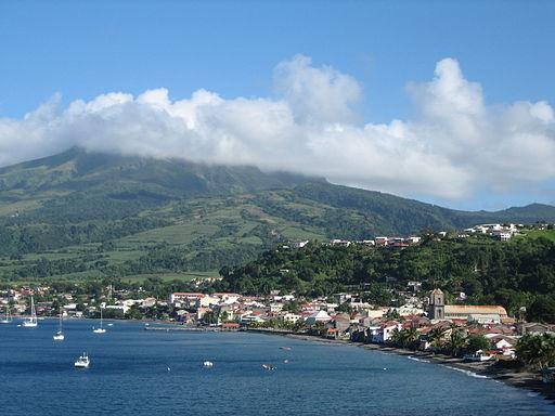 Saint Pierre en Martinique